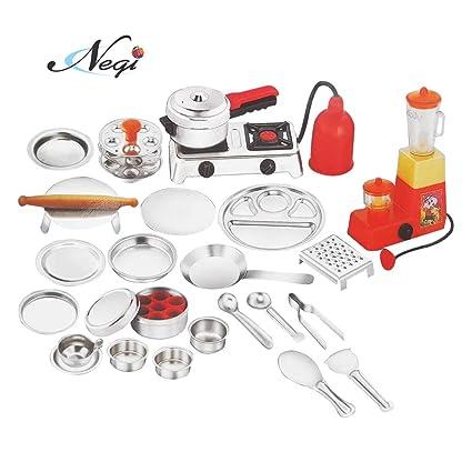 Stainless Steel Kitchen Set Toy Online India Erigiestudio