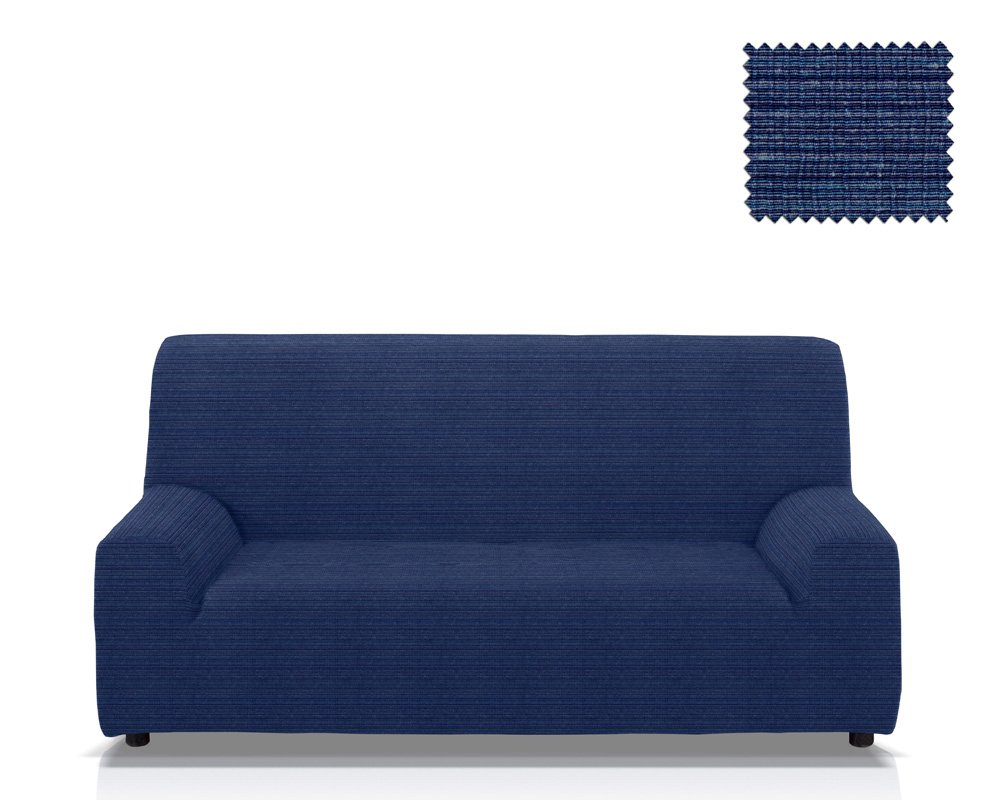 JM Textil Copridivano elastico Moraig dimensione 1 posto (da 70 a 100 Cm.), Colore Beige (Vari Colori disponibili.)