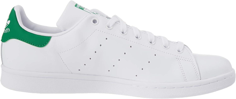 adidas Originals Adidas Stan Smith M20324, Baskets Mode Mixte Adulte Cloud White Core White Green