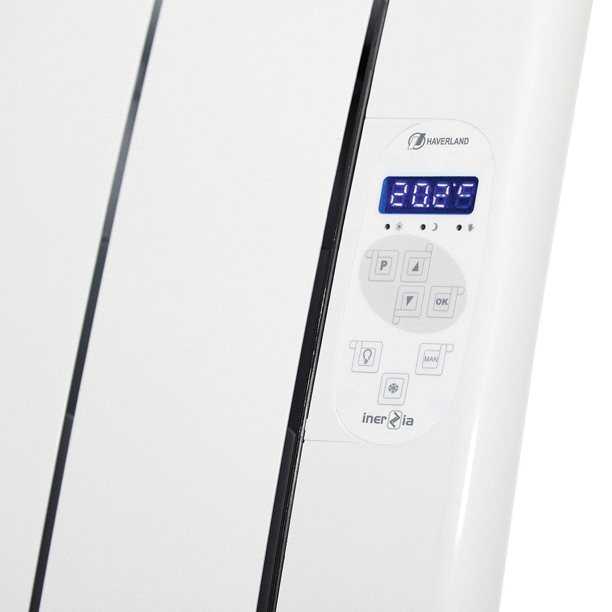 Haverland Inerzia RC6TTS - Emisor Térmico / radiador, 900 W, color blanco: Amazon.es: Hogar