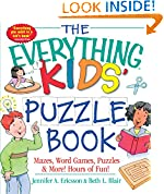 #2: The Everything Kids' Puzzle Book: Mazes, Word Games, Puzzles & More! Hours of Fun!