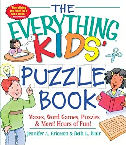 the everything kids puzzle book mazes word games puzzles more