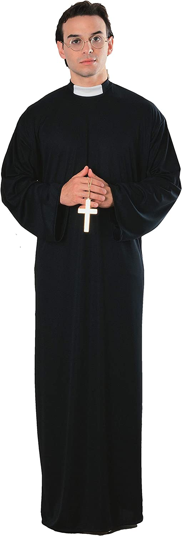 B00005KJXM Rubie's Costume Priest Costume 61GK23ENszL