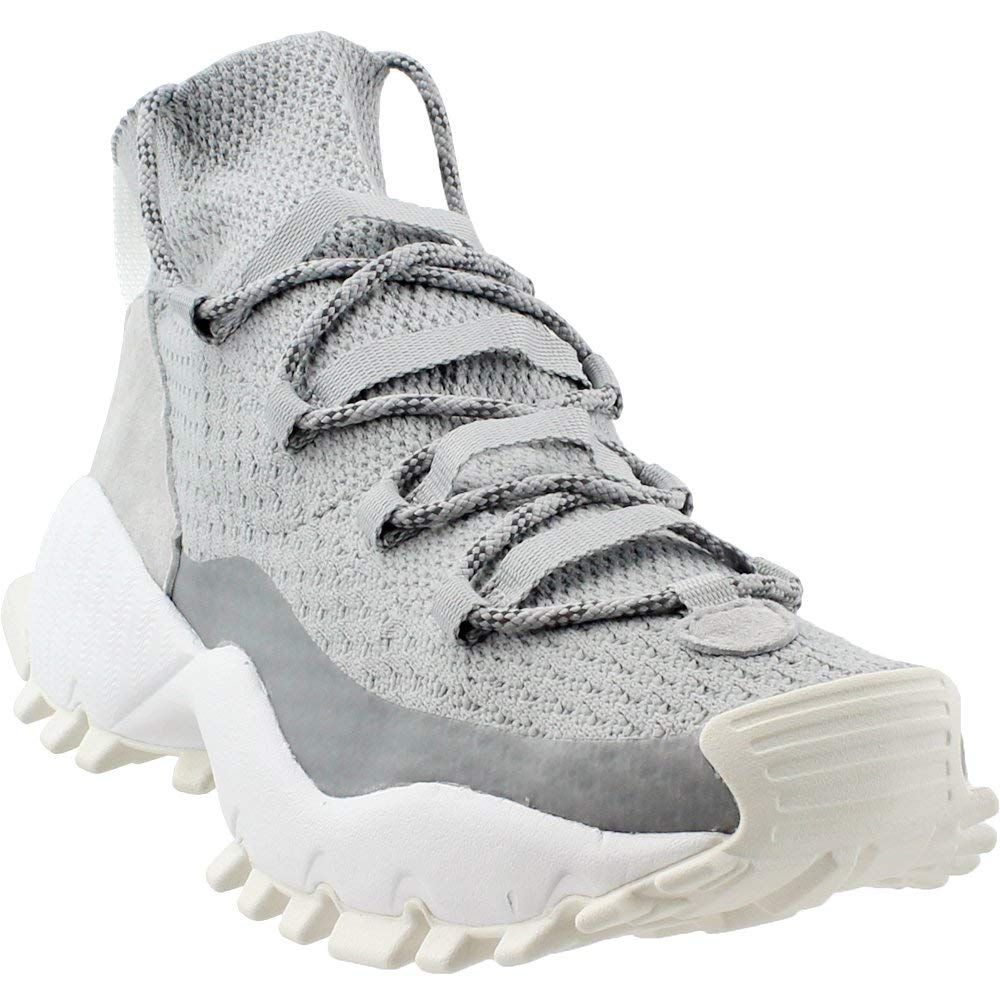 Grey Adidas Mens Seeulater Winter Primeknit Athletic & Sneakers