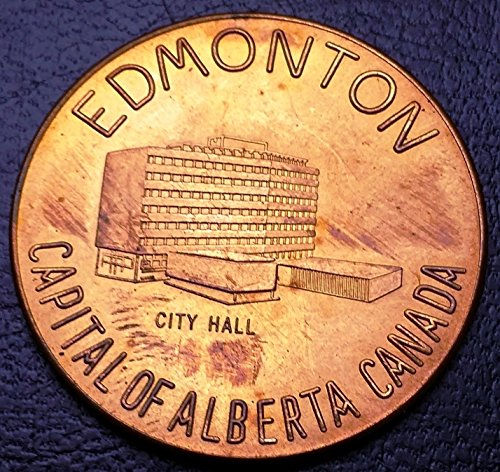 Unbranded EDMONTON ALBERTA TOKEN CANADA'S INDUSTRIAL FRONTIER MINT CONDITION