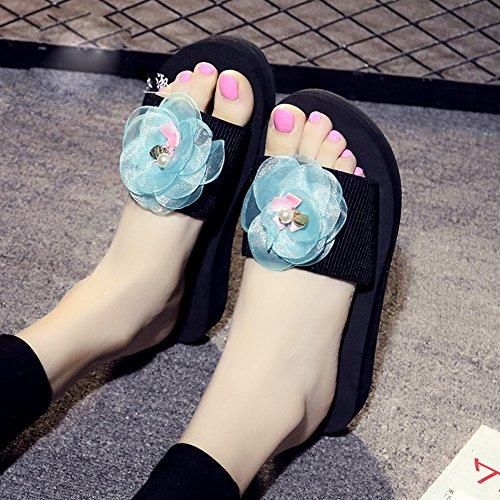 Donne Dimensioni Donna Modo Per Sandali 3 colore Sabbia Le Pantofole 5 Spiaggia Estivi Di Da Spessi 40 35 Anni Antisdrucciolevoli 18 Haizhen Scarpe Della qnxFU1