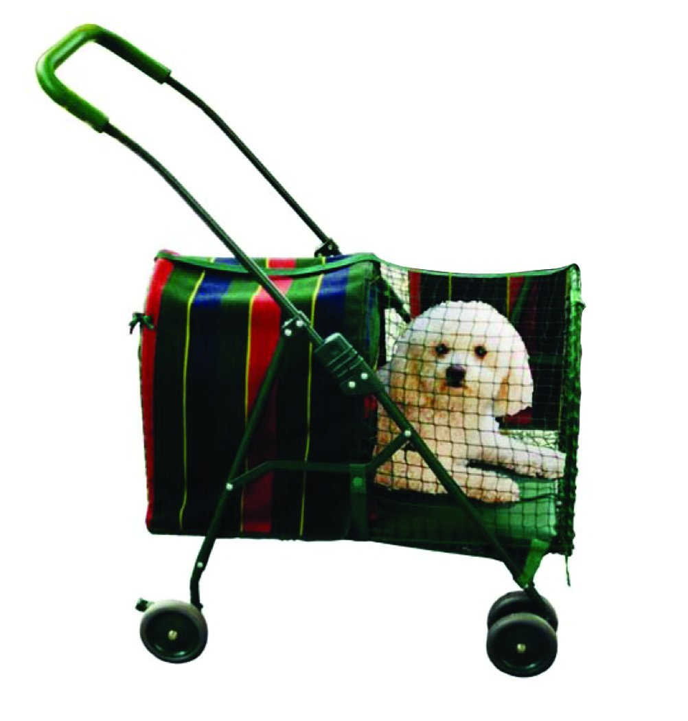 Kittywalk KWPS600 Original Pet Stroller, Stripe by Kittywalk Systems Inc