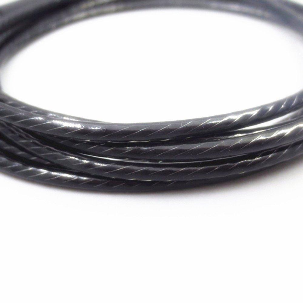 Yunyiyi 1/pcs Noir Ligne de Cordon de c/âble de Remplacement avec Micro pour JBL E40bt E50bt E55/J56BT S400BT S700/Harkar-BT /Écouteurs Intra-Auriculaires et Micro