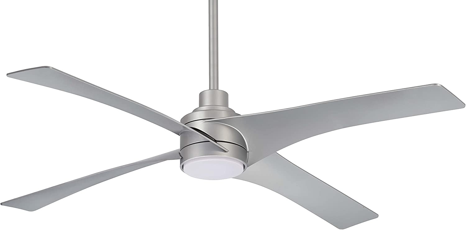 Hunter Indoor Low Profile Ceiling Fan with light and pull chain control – Bowl 42 inch, White, 51080