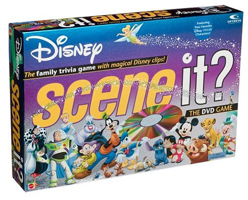Scene It? Disney Edition DVD Game by Screenlife