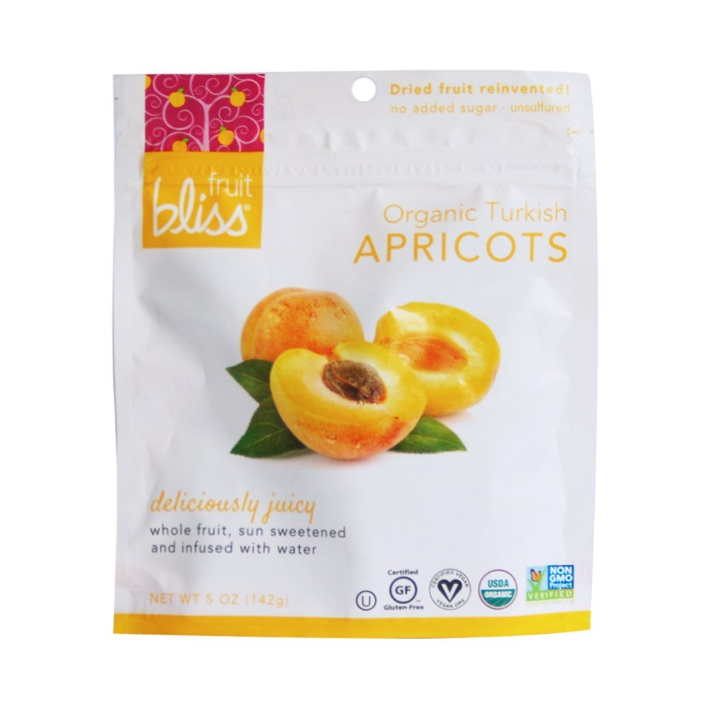 Fruit Bliss Dried Fruit, 5oz, Pack of 6 (Turkish Apricot)