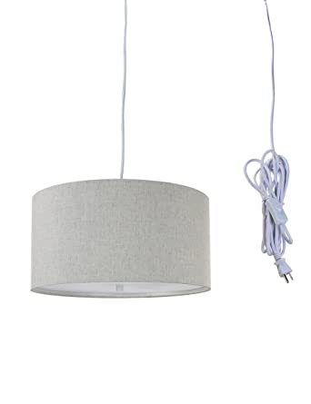 Pendant lighting plug in Corded Light Plugin Pendant Light By Home Concept Hanging Swag Lamp Shallow Drum Pinterest Light Plugin Pendant Light By Home Concept Hanging Swag Lamp