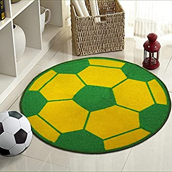 ZXDG Kids Childrens Football Ground Rugs Anti Skid Carpets For Childrenu0027s  Room Soccer Rugs