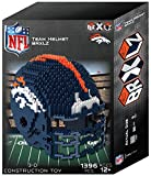 Denver Broncos NFL 3D BRXLZ Construction Toy Blocks