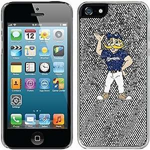 Bernie Brewer Standing design on Silver iphone 6 plus / 5 Thinshield Glitter Bling Case WANGJING JINDA