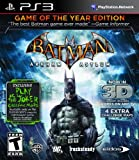 Batman Arkham Asylum: Game Of The Year - PlayStation 3 Game of the Year Edition