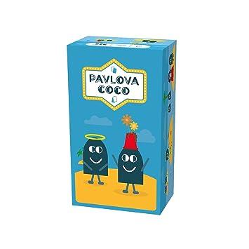 Pavlova Coco - Juego de Cartas (12 Unidades), Color Azul ...