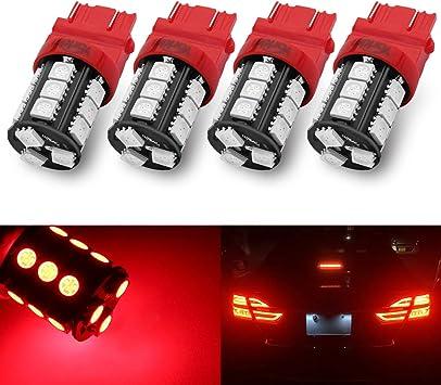 2X 3157 LED Bulbs LED Backup Reverse Light Turn Signal Lamp 3156 3057 4157 Amber