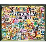 White Mountain Rompecabezas de 1000 Piezas de Puzzles TV Families