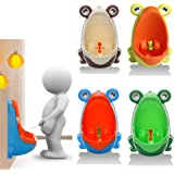 Frog Potty Toilet Children Training Kids Urinal for Boys Pee Trainer Bathroom Hanging & Stand Up