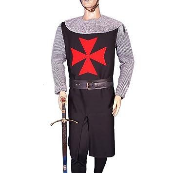 Traje medieval Sargento Templario: Amazon.es: Juguetes y juegos