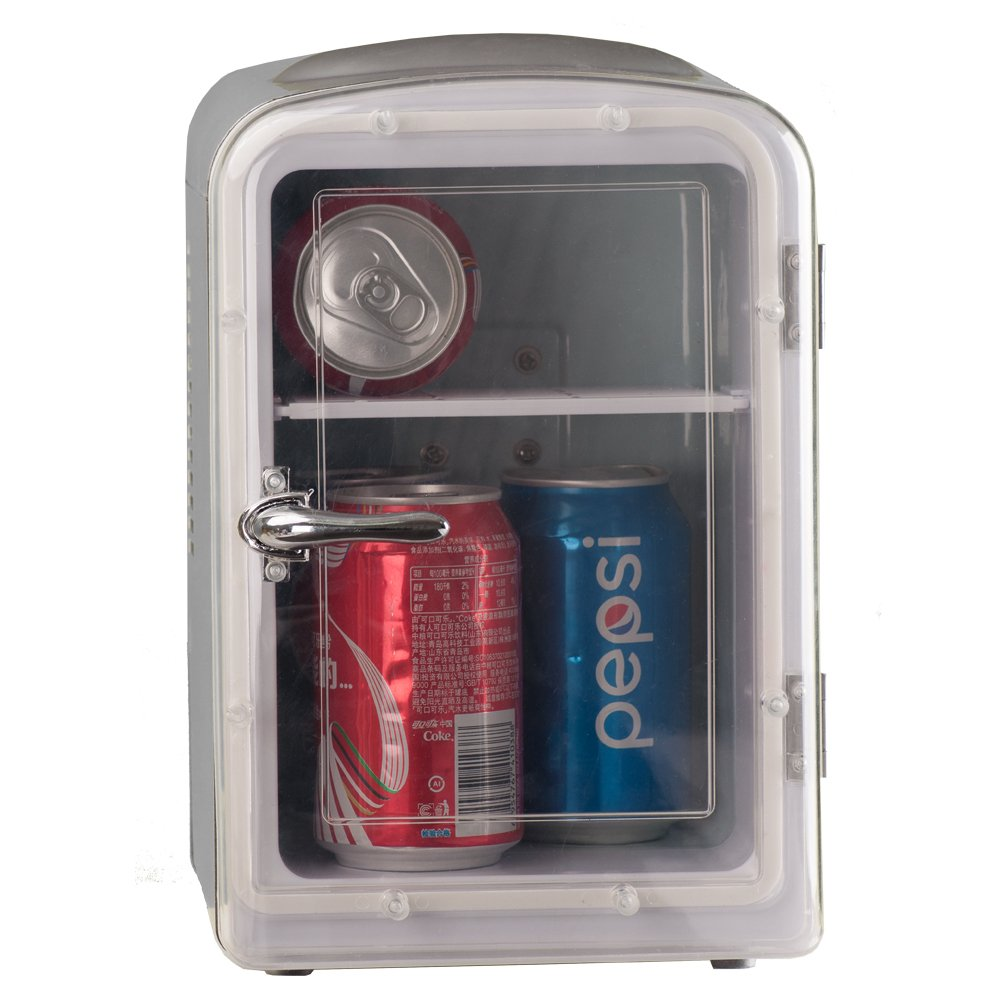 Generic DC12V ABS Mini Truck Car Compact Refrigerator AC110V Thermoelectric Cooler Warmer Fridge Travelling Camping Soda Camper by SMETA (Image #7)