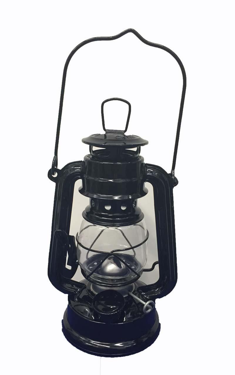OMNI Black Hanging Hurricane Lantern Light Lamp - 8 Inches