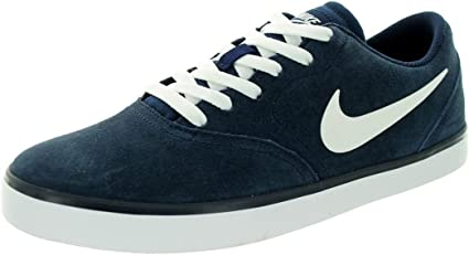 NIKE SB CHECK TENNIS ATHLETIC TRAINER SPORTS SNEAKERS MEN SHOES BLUE SIZE 13 NEW