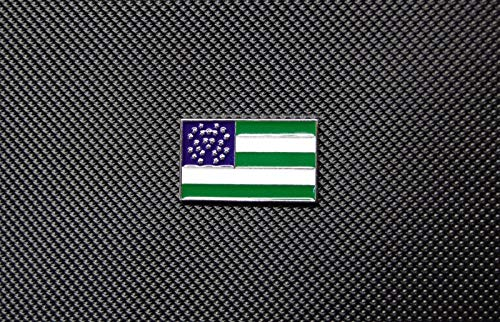 BritKitUSA New York Police Department Flag Enamel Lapel Pin NYPD New York's Finest -