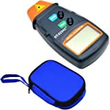 Toolso Digital Laser Photo Tachometer Non Contact RPM Tach Speed Gauge Engine Diagnostic Tool