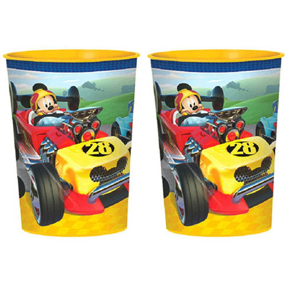 Mickey Mouse Mickey and the Roadster Racers Reusable Keepsake Cups 2ct