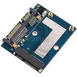 Generic Mini PCI-e MSATA To 2. 5 inch SATA Adapter Converter Card Module Board Blue