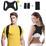 Corrector de Postura, Transpirable y Ajustable Corrector Espalda Hombro para Hombre y Mujer, Corrector Postura Espalda…