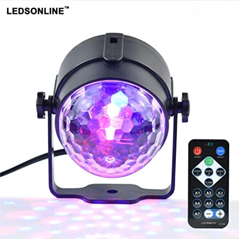 Lights & Lighting Led Disco Light Stage Lights Dj Disco Ball Sound Activated Laser Projector Lamp Light Music Christmas Party