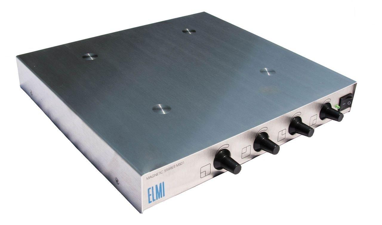 ELMI MS01 Four Place Magnetic Stirrer, 50 - 2100 RPM