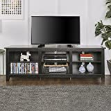 New 70 Inch Wide Black Television Stand