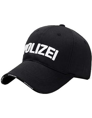 Doingshop Fashion Unisex POLIZEI Embroidered Baseball Caps Adjustable  Peaked Cap 40e10ebdd207