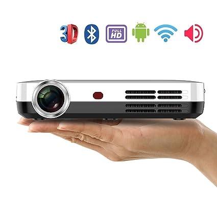 Proyector de vídeo DLP 3d Full HD, foxcesd H9 Mini proyector ...