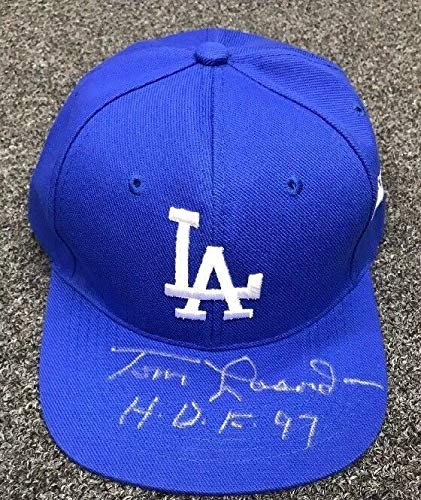 Tommy Lasorda Hof 1997 Autographed Signed La Dodgers Hat Cap Autographed Signed PSA/DNA