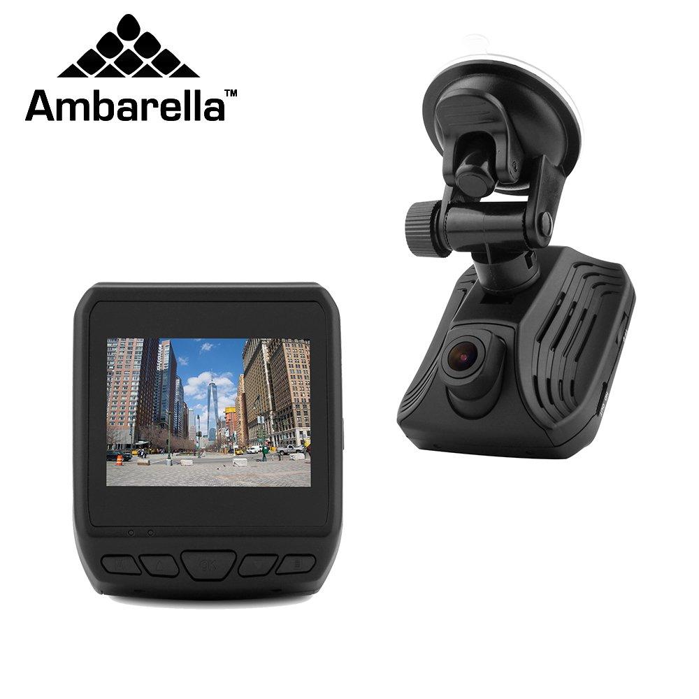 lifechaser車ダッシュカムUHD 2 K 1440p 150 °角度自動車ダッシュボードカメラレコーダーとAmbarella a12、2.31インチLCD、Adas、GPS、WDR、Gセンサー、駐車場、モード、ループ録画、経過時間HDMI B07B94JQHW