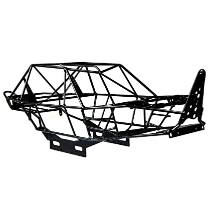Amazon.com: RCLions RC Crawler Car Steel Roll Cage Tube Frame ...