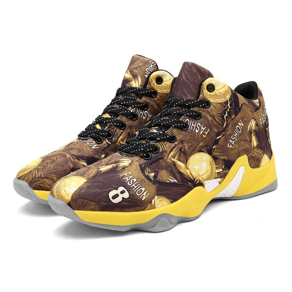 Zapatos de Hombre PU Spring Fall Comfort Zapatos Atléticos Zapatos de Baloncesto Botines/Botines Dividir Conjunta Para Casual Negro Amarillo Rojo 45 EU|A