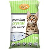 Feline First 50480 Premium Crystal Cat Litter 4 kg