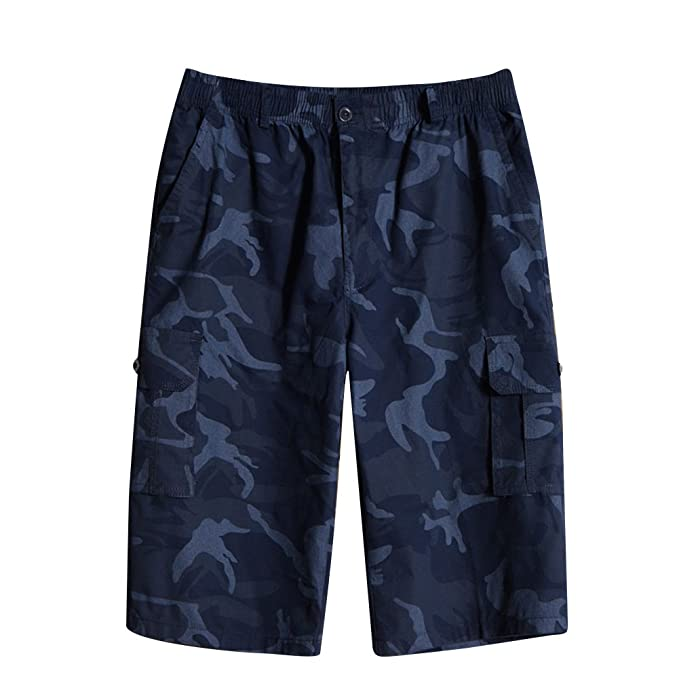 e74cb7e472 AnyuA Pantalón Cargo Bermudas Pantalones Cortos para Hombres Camuflaje De Trabajo  Pantalones Cargo  Amazon.es  Ropa y accesorios