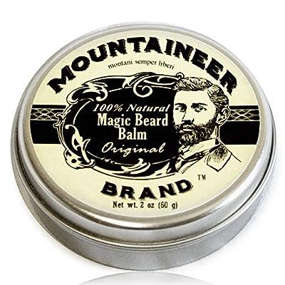 Magic Beard Balm by Mountaineer Brand: All Natural Beard Conditioning Balm