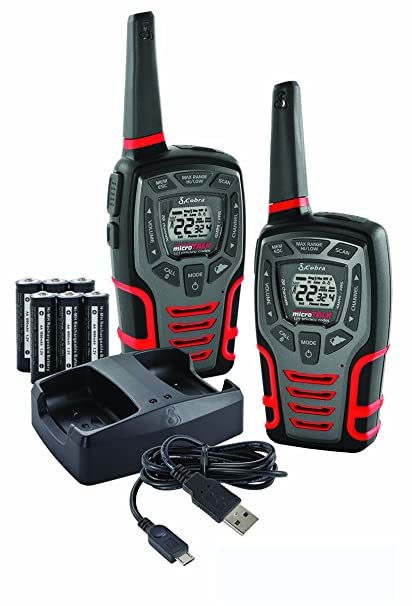 Amazon Com Cobra Acxt545 Walkie Talkie Cell Phones Accessories