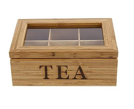 Bamboo King   Exquisite Teebox Aus 100% Natürlichem 5 Jährigen Mao Bambus  Für Echte