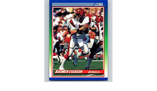 0c537636e Amazon.com: 1990 Score #40 Boomer Esiason Bengals NFL Football:  Collectibles & Fine Art