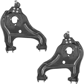 Set of 2 Front Lower At Shock Suspension Control Arm Bushing fits 2010 Dodge Ram 1500 Note: 4WD