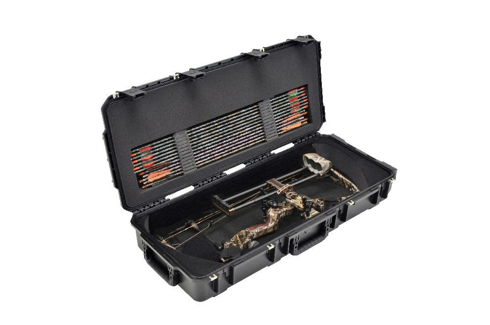 SKB Injection-Molded Parallel Limb Bow Case, Black by SKB